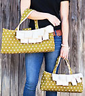 The Date Night Handbag and Carryall Pattern - Retail $9.00